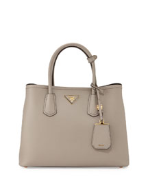 Saffiano Leather Medium Tote Bag