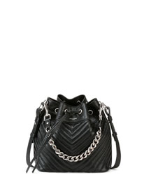 Emmanuelle Giant Quilted Bucket Bag