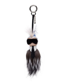 Mini Karlito Fur Charm for Handbag
