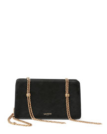 Boxy Chain-Tassel Shoulder Bag