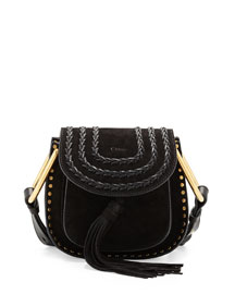 Hudson Mini Suede Shoulder Bag