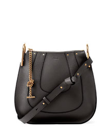 Hayley Small Hobo Bag, Black