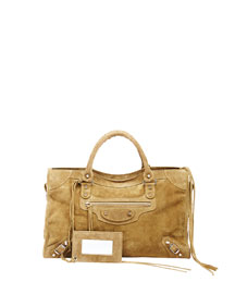 Classic City Suede Bag