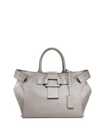 Pilgrim de Jour Small Shopping Tote Bag, Gray