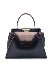 Peekaboo Medium Tricolor Calf Bag