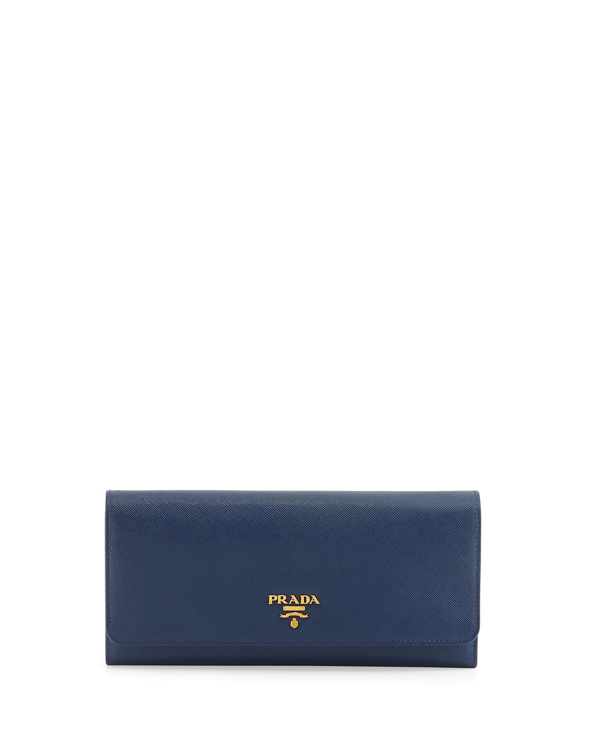 Prada Saffiano Leather Wallet-on-Chain, Red