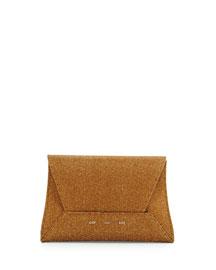 Sparkle Manila Clutch Bag, Bronze