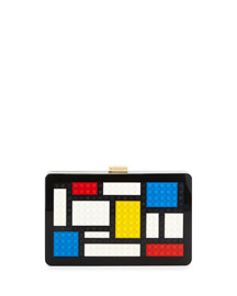 Andy Geometric Lego?? Clutch Bag