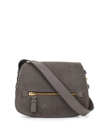 Jennifer Medium Suede Saddle Bag
