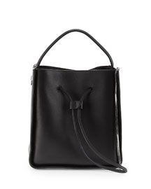 Soleil Small Leather Bucket Bag