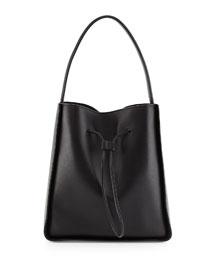 Soleil Large Leather Bucket Bag