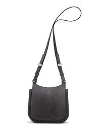 Suede Hunting Bag 9, Dark Gray