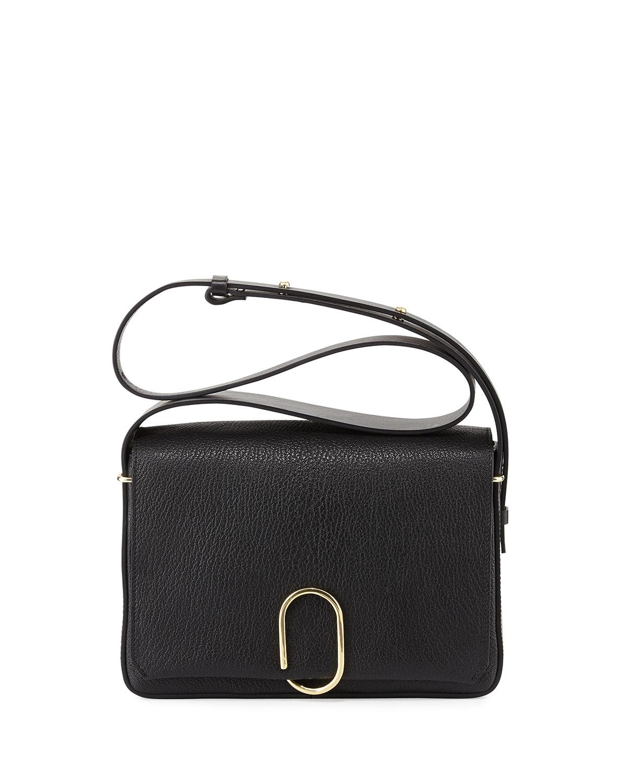 3.1 Phillip Lim Alix Flap Shoulder Bag, Black