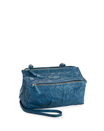 Pandora Mini Pepe Crossbody Bag, Mineral Blue