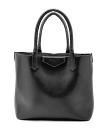 Antigona Whipstitch-Handle Tote Bag, Black
