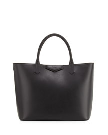 Antigona Whipstitch-Handle Medium Tote Bag, Black