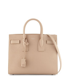 Sac de Jour Small Carryall Bag, Dark Beige