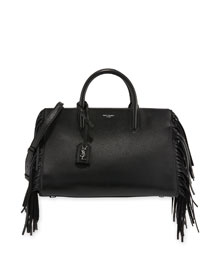 Rive Gauche Small Cabas Box Bag, Black
