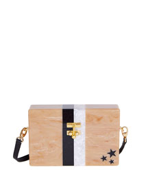 Small Stars & Stripes Trunk Bag, Pink Pattern