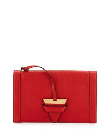 Barcelona Leather Clutch Bag