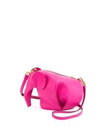 Leather Elephant Mini Bag, Tan