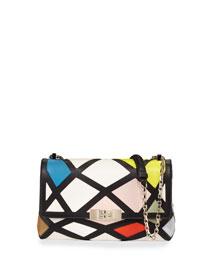 Prismick Shoulder Bauhaus Mini Bag, Multicolor