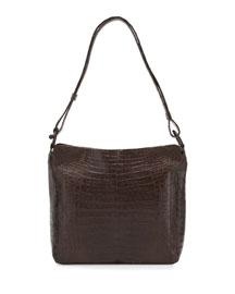 Medium Crocodile Hobo Bag