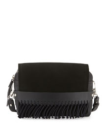 Bianca Medium Crossbody Bag, Black