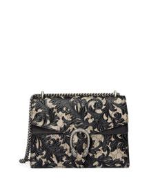 Dionysus Arabesque Shoulder Bag, Beige/Ebony