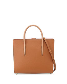 Paloma Large Triple-Gusset Tote Bag, Tan