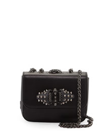 Sweet Charity Baby Calfskin Shoulder Bag, Black