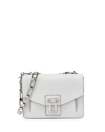 Hava Chain Shoulder Bag, White