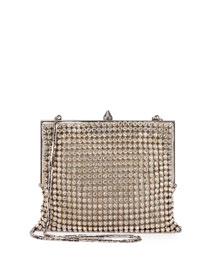 Bijoux Crystal Mesh Shoulder Bag