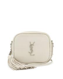 Monogram Toy Camera Shoulder Bag, White Gray (Blanc Grise)
