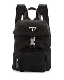 Vela Nylon Small Backpack