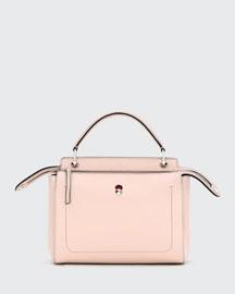 DOTCOM Medium Leather Satchel Bag