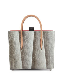 Paloma Medium Fishskin Tote Bag,