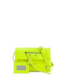 Classic Nickel Mini Envelope Crossbody Bag
