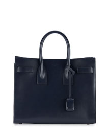 Sac de Jour Small Satchel Bag, Marine/Black