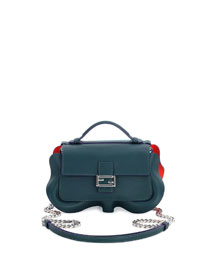Baguette Micro Wavy Double-Sided Bicolor Bag