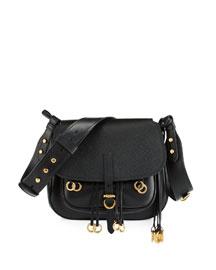 Leather City Saddle Bag