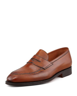 Bontoni Principe Penny Loafer, Light Brown
