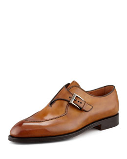Bontoni Brillantin Original Single Monk Strap Loafer