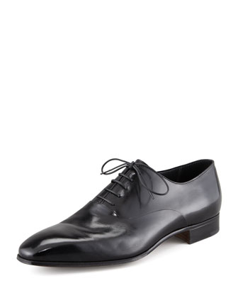 Lace-Up Blucher, Black