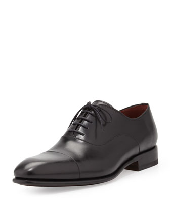 Cap-Toe Lace-Up Balmoral