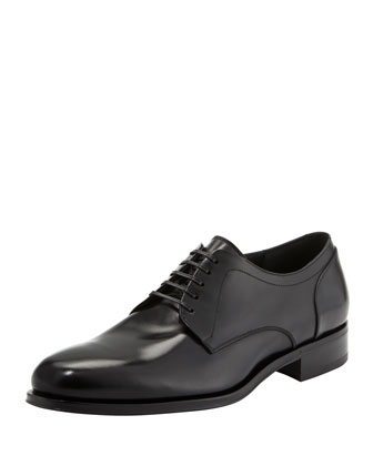 Raven Plain-Toe Derby Shoe