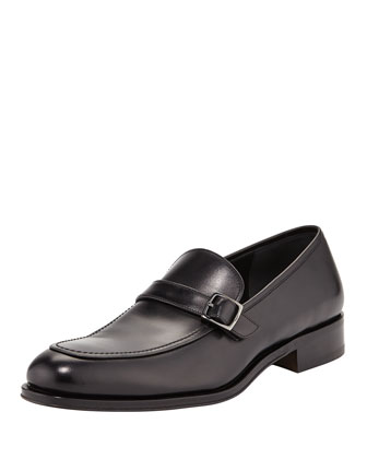 Ronnie Leather Strap Loafer