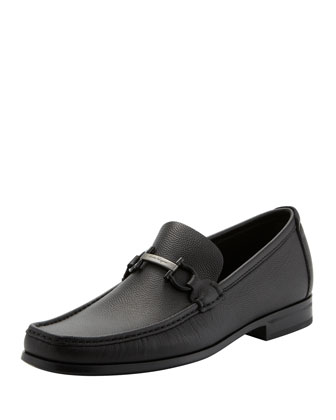 Regal Pebbled Gancini Loafer