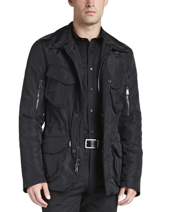 Cargo Escape Jacket, Black