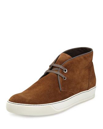 Suede Chukka Sneaker, Camel